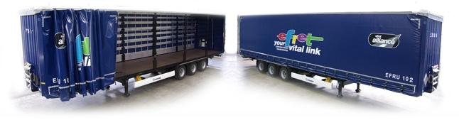 Full Mega Trailer Load Road Freight