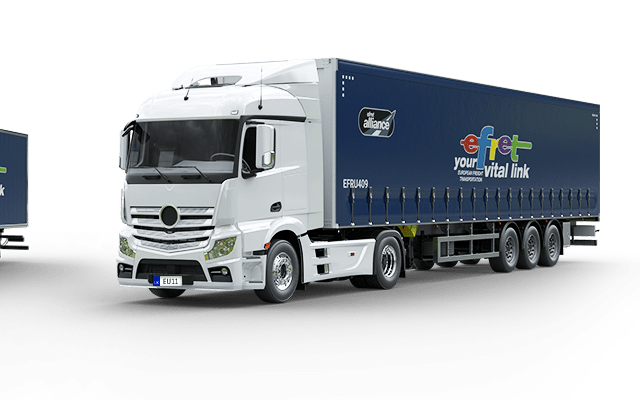 Mega Trailer Haulage Services between EU countries