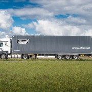 Efret invests in Krone Dry Liner mega box trailers
